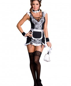French Maid Uniform Costume