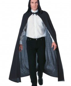 Black Hooded Cape