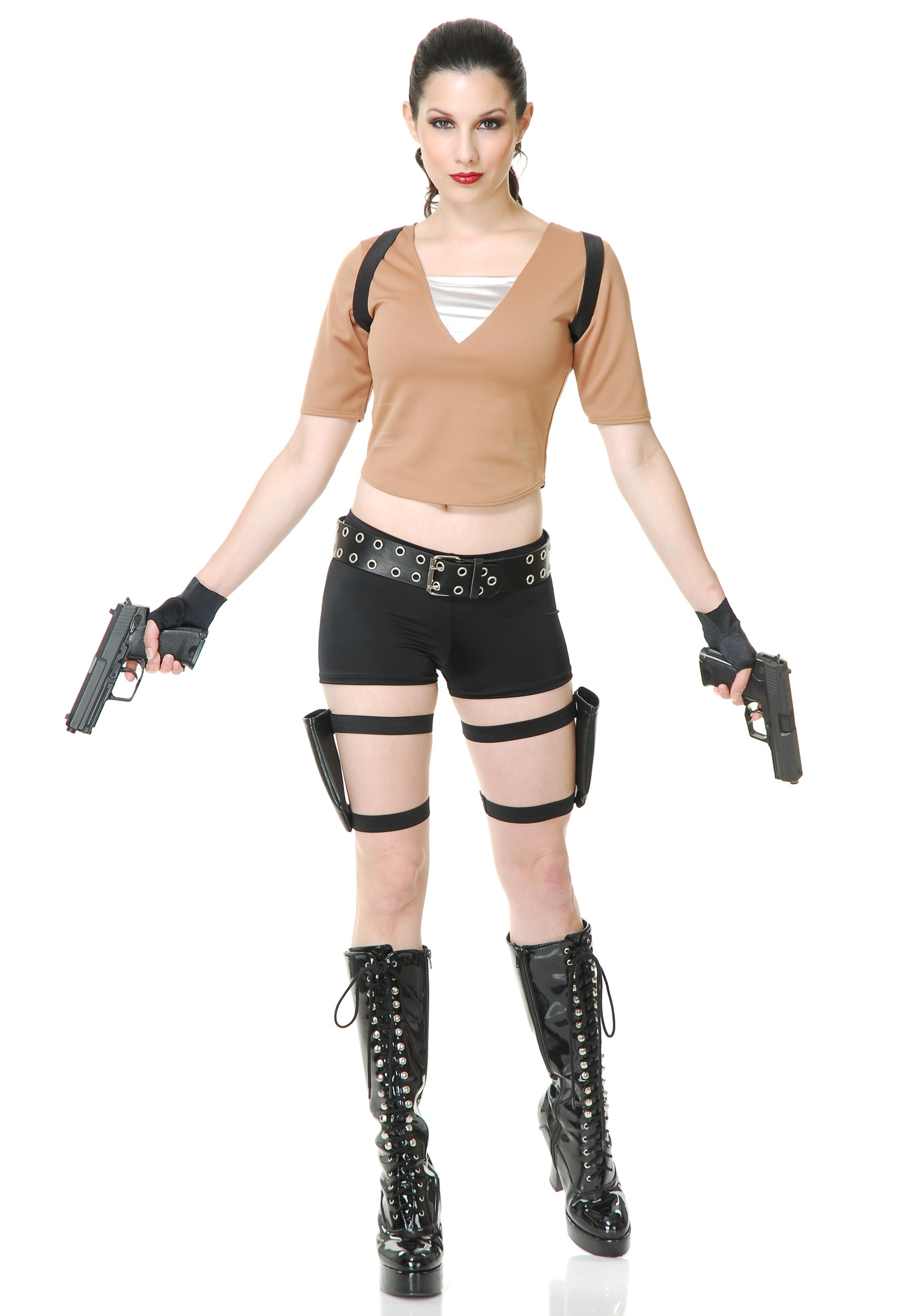 Halloween Video Game Costumes.Women S Tomb Fighter Costume