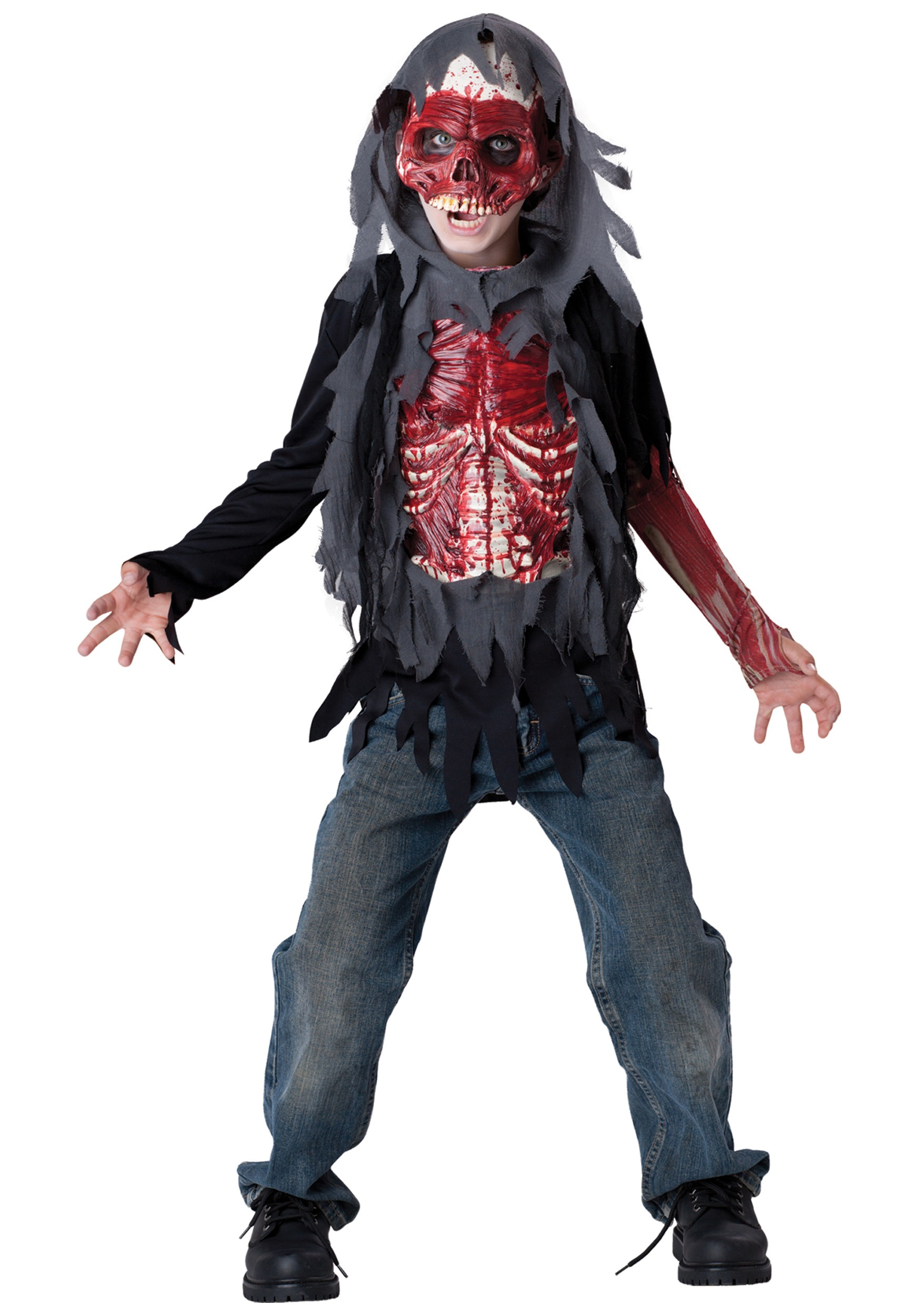 Kids Skinned Alive Zombie Costume - Halloween Costume Ideas 2016
