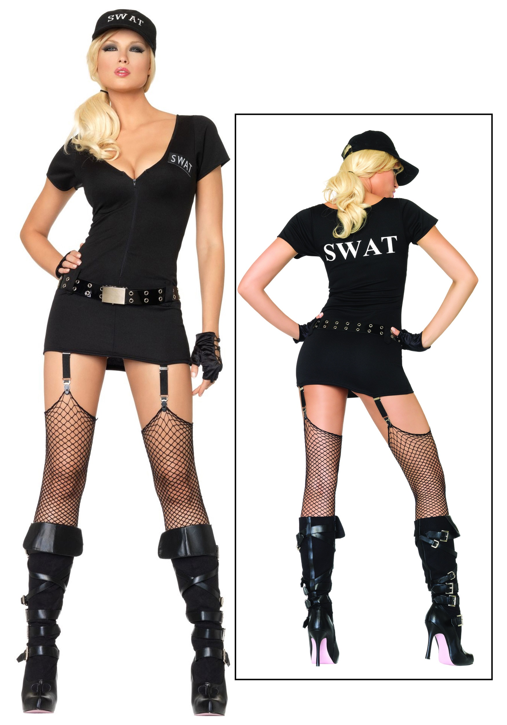 33d48695fcf Little Girl Cop Costumes & Sexy SWAT Commander Costume Sc 1 St ...