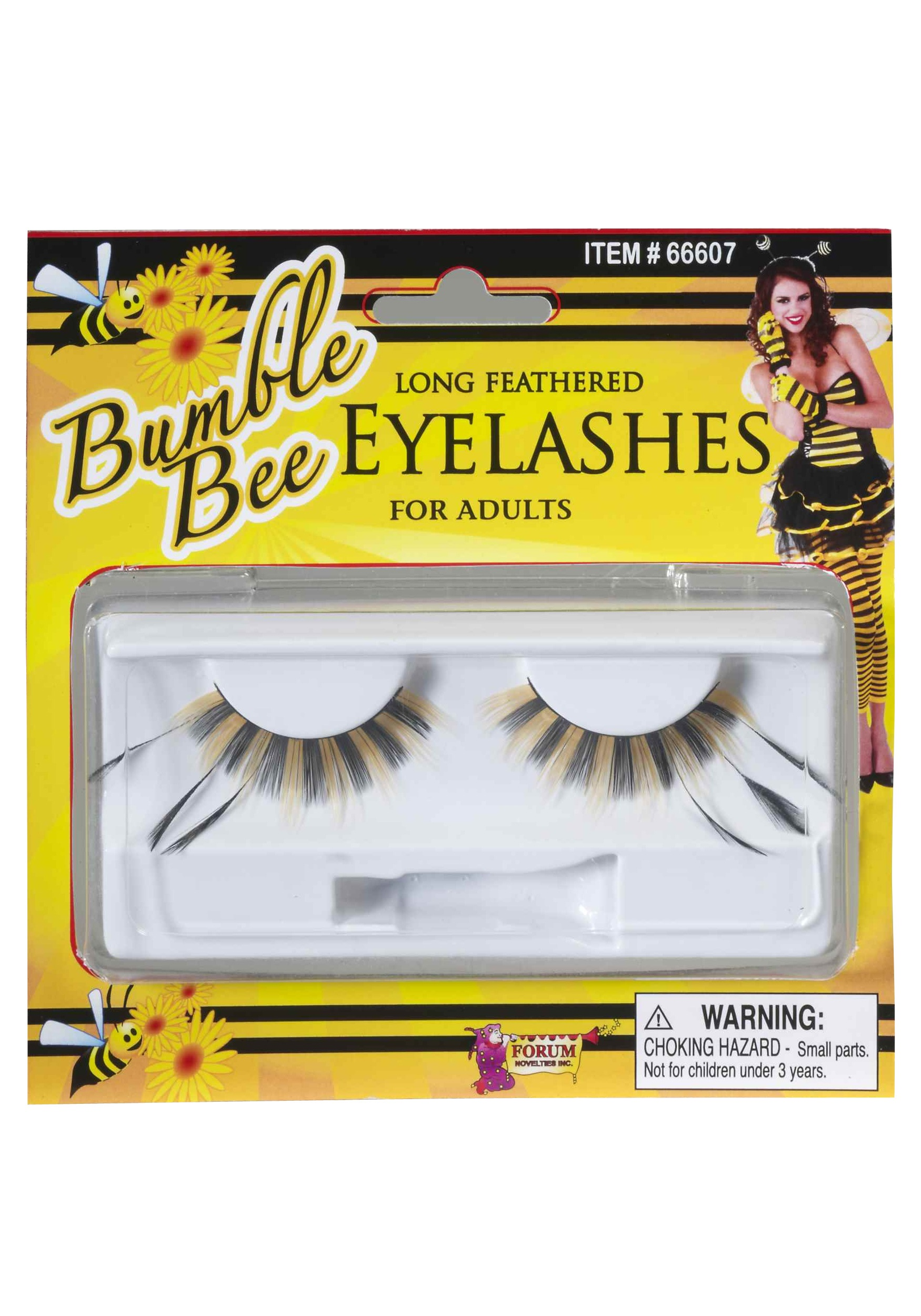 Honey Bee Eyelashes Halloween Costume Ideas 2018