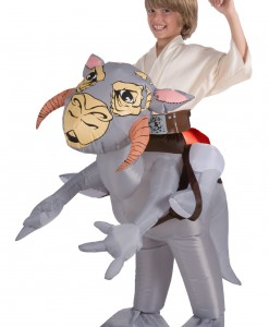 Kids Inflatable Tauntaun Costume
