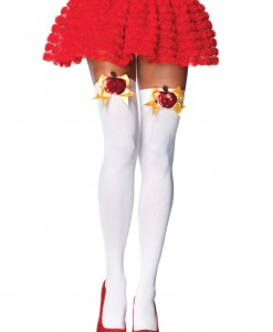 Poison Apple Thigh High Stockings