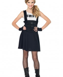Teen SWAT Girl Costume
