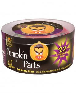 22 Piece Pumpkin Push-in Kit