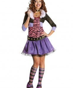 Adult Deluxe Clawdeen Costume
