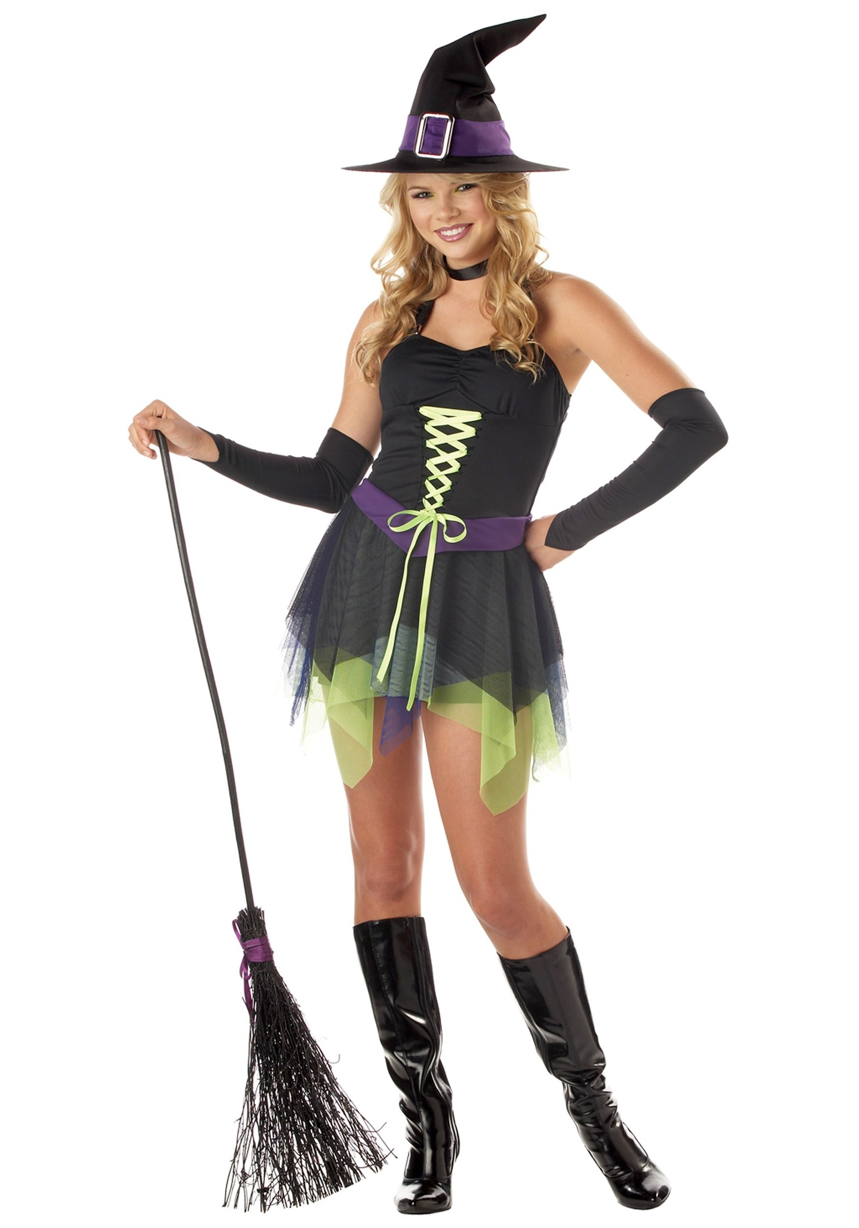 teen whimsical witch costume - halloween costume ideas 2018