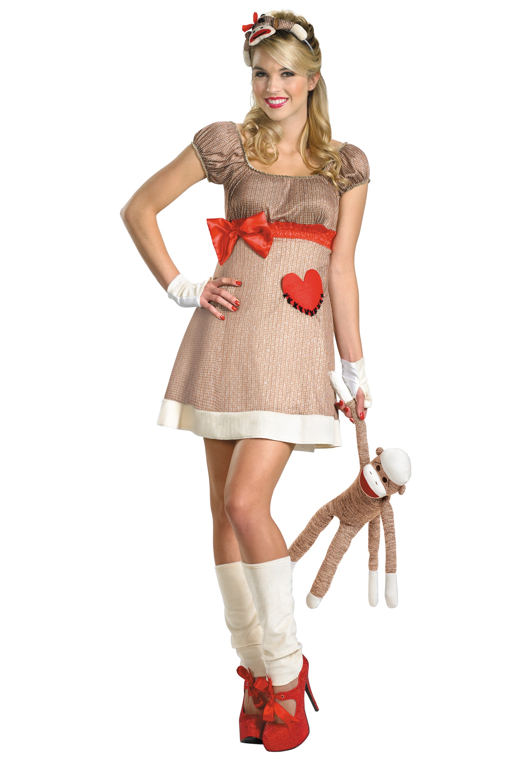 Deluxe Miss Sock Monkey Costume  sc 1 st  Halloween Costumes & Deluxe Miss Sock Monkey Costume - Halloween Costume Ideas 2016