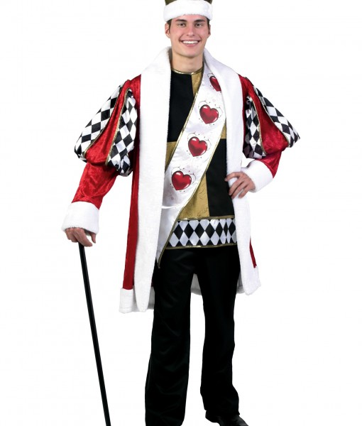Deluxe King of Hearts Costume