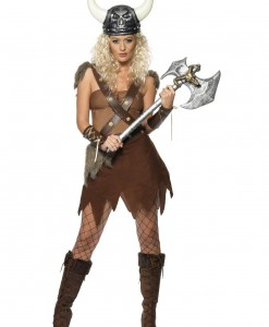 Women's Viking Warrior Costume