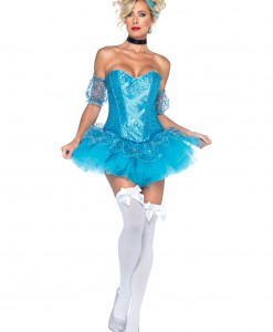 Blue Sequin Princess Costume