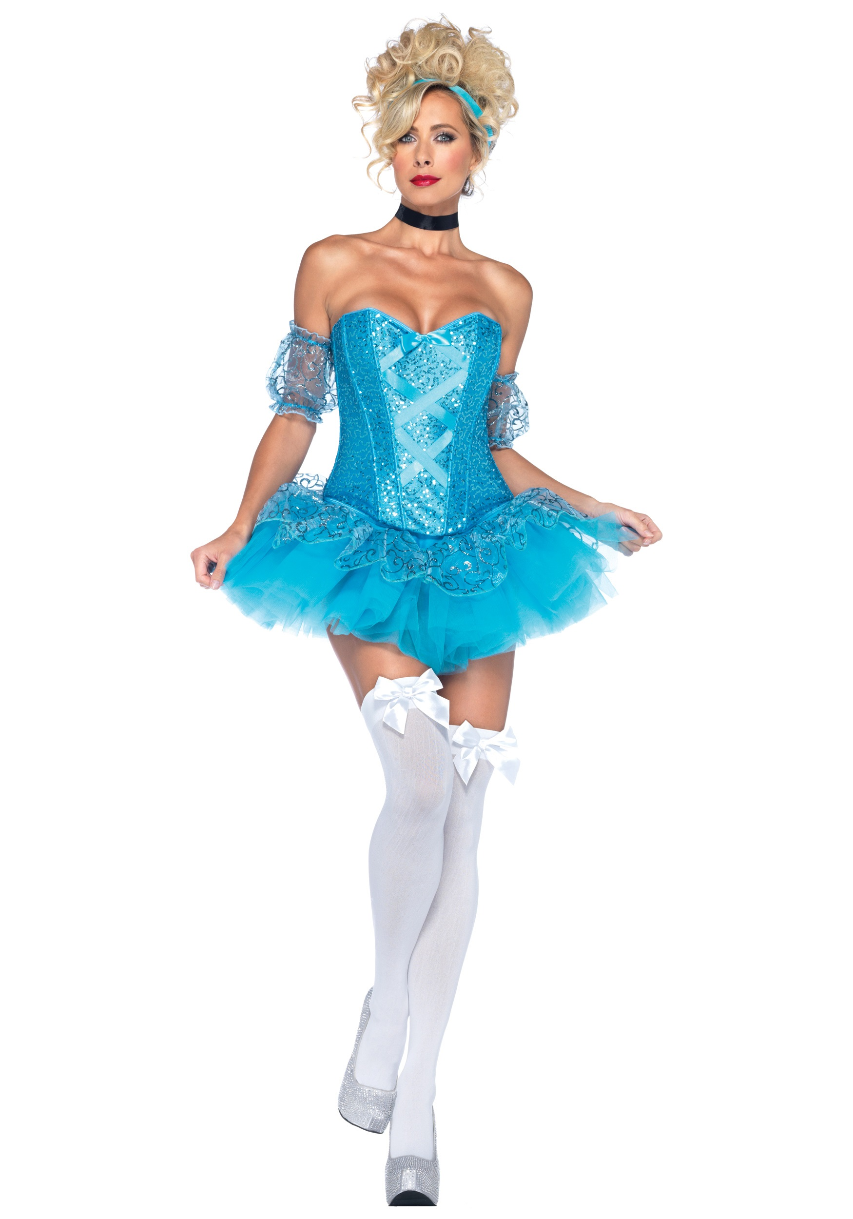 Blue Sequin Princess Costume  sc 1 st  Halloween Costumes : princess costumes halloween  - Germanpascual.Com