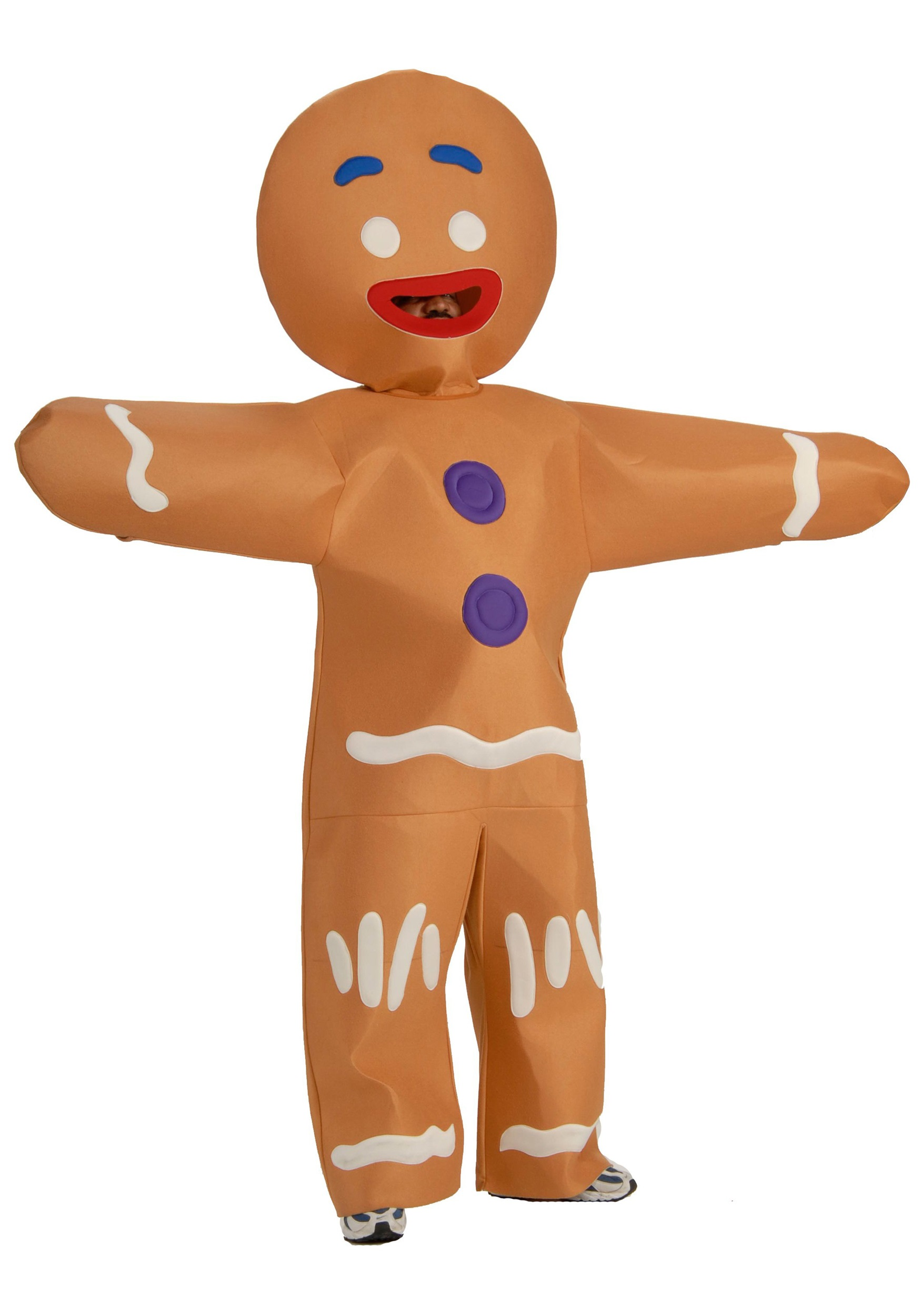 adult gingerbread man costume - halloween costume ideas 2018