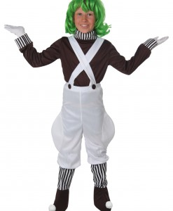 Kids Chocolate Factory Worker Costume