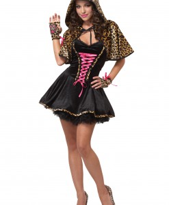 Teen Leopard Kitty Costume