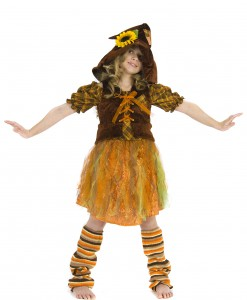 Child Girls Scarecrow Costume