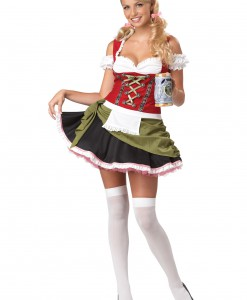 Plus Size Bar Maid Costume