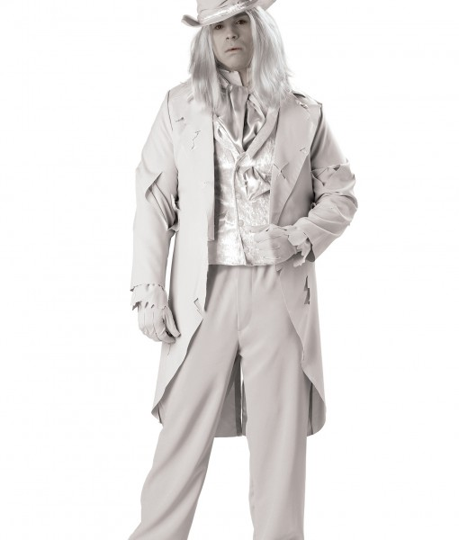 Plus Size Ghostly Gentleman Costume