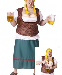 Plus Size Mens German Beer Girl