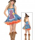 Sexy Sunflower Scarecrow Costume