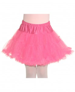 Child Pink Petticoat