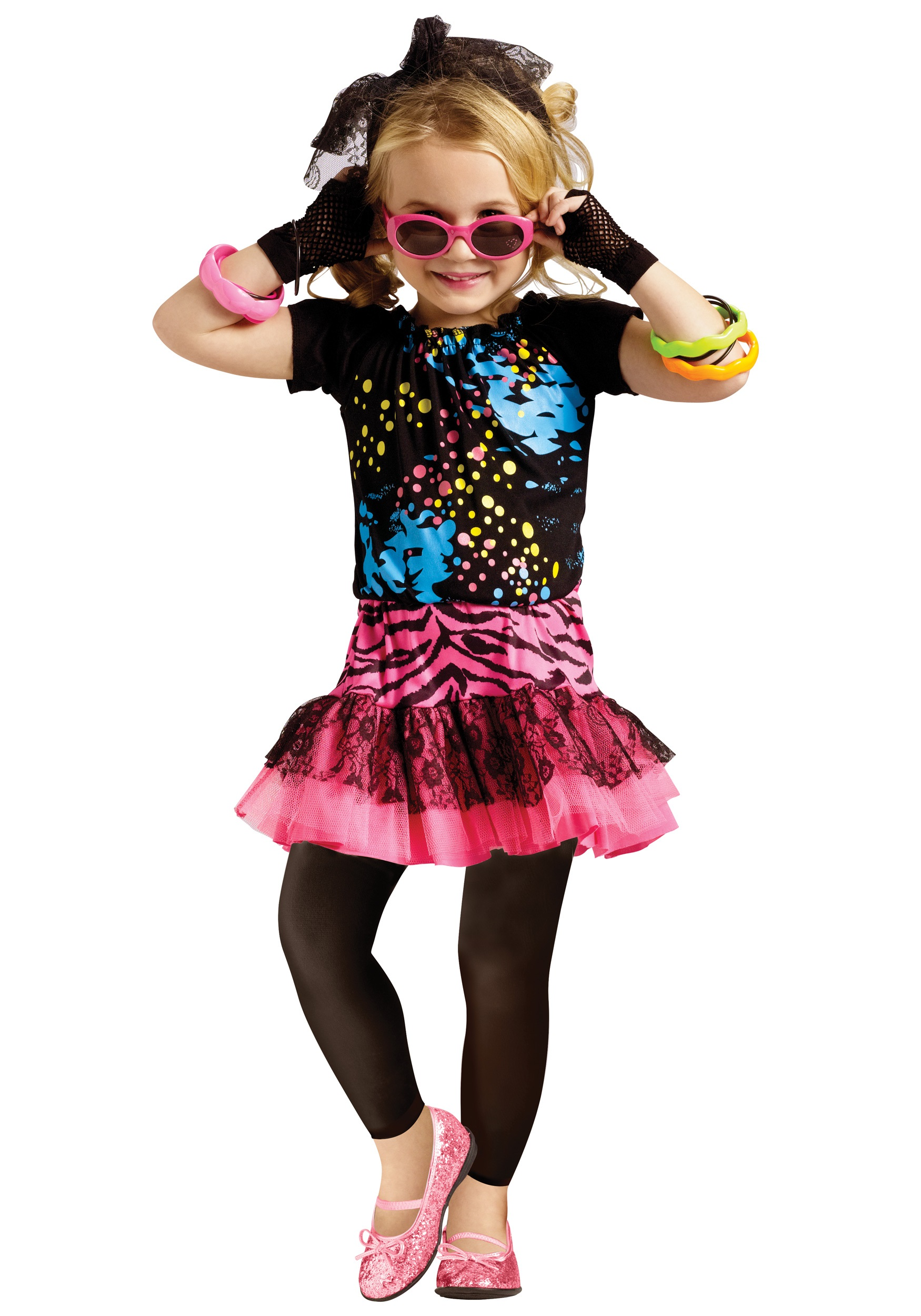 378a0fd1f8 80s Pop Party Toddler Costume - Halloween Costume Ideas 2018