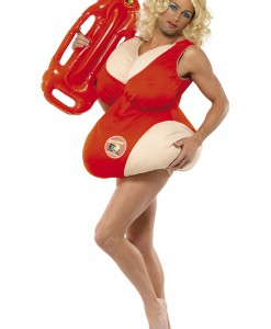 Fat Baywatch Lifeguard Costume