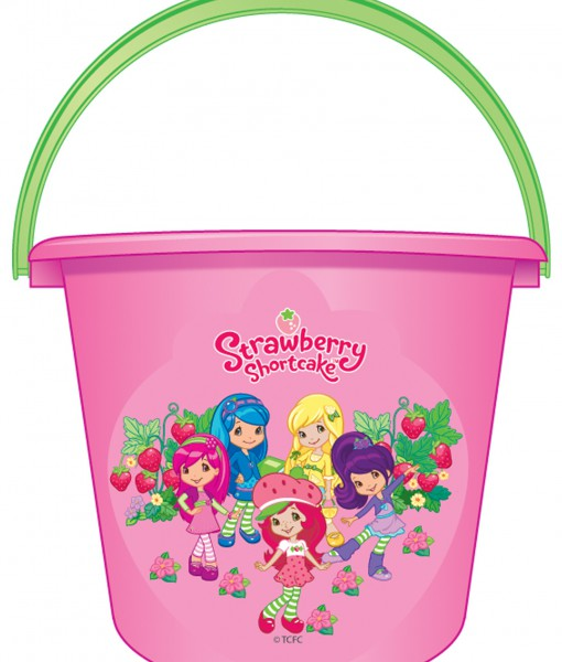 Strawberry Shortcake Pail