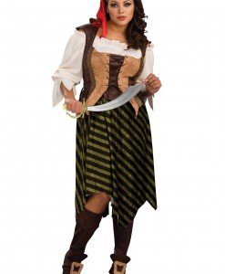 Plus Size Sea Wench Costume