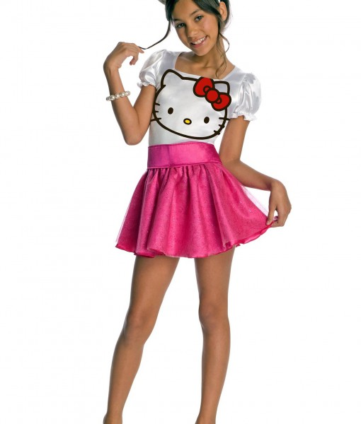 Child Hello Kitty Costume  sc 1 st  Halloween Costumes : cat girl costume ideas  - Germanpascual.Com