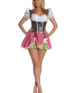 Plus Size Swiss Girl Costume
