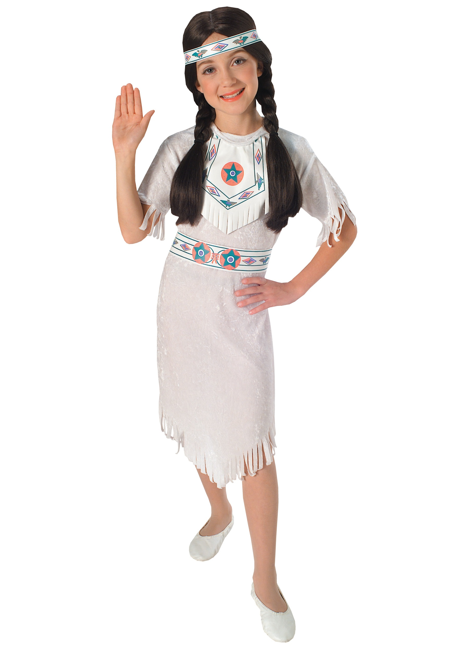 Girls Native American Princess Costume  sc 1 st  Halloween Costumes : native american kids costumes  - Germanpascual.Com