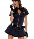 Women's Police Playmate Costume