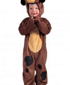 Toddler Fuzzy Lil Puppy Costume