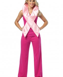 Mini Adult Pink Ribbon Costume