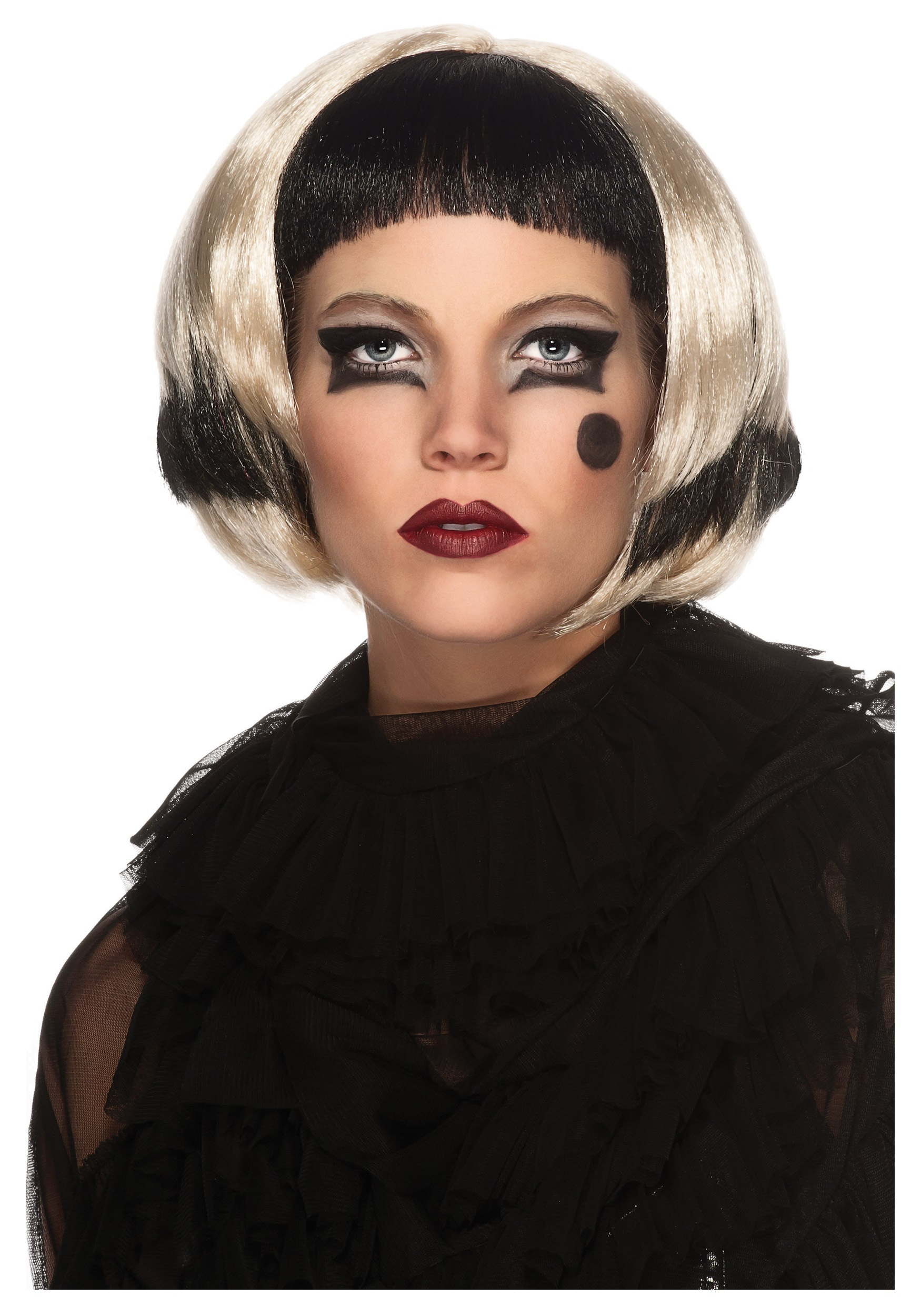 Black and Blonde Lady Gaga Wig  sc 1 st  Halloween Costumes & Black and Blonde Lady Gaga Wig - Halloween Costume Ideas 2016