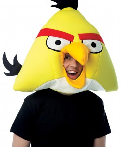 Angry Birds Yellow Fabric Mask