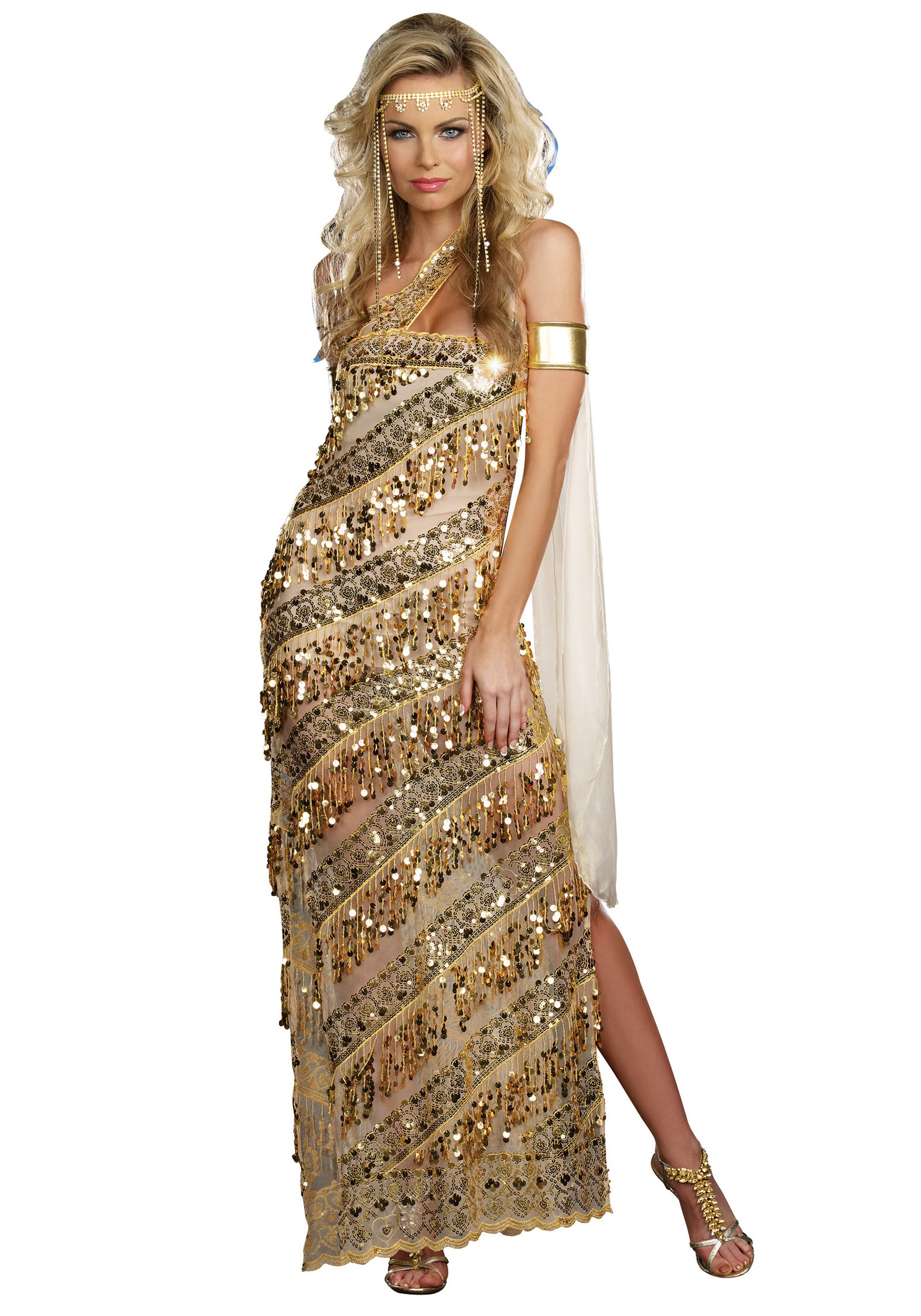womens golden goddess costume - Helen Of Troy Halloween Costume