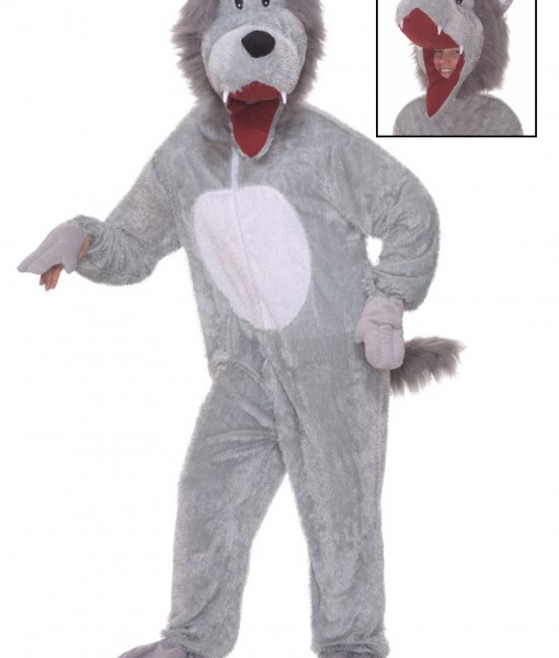 Plush Storybook Wolf Costume