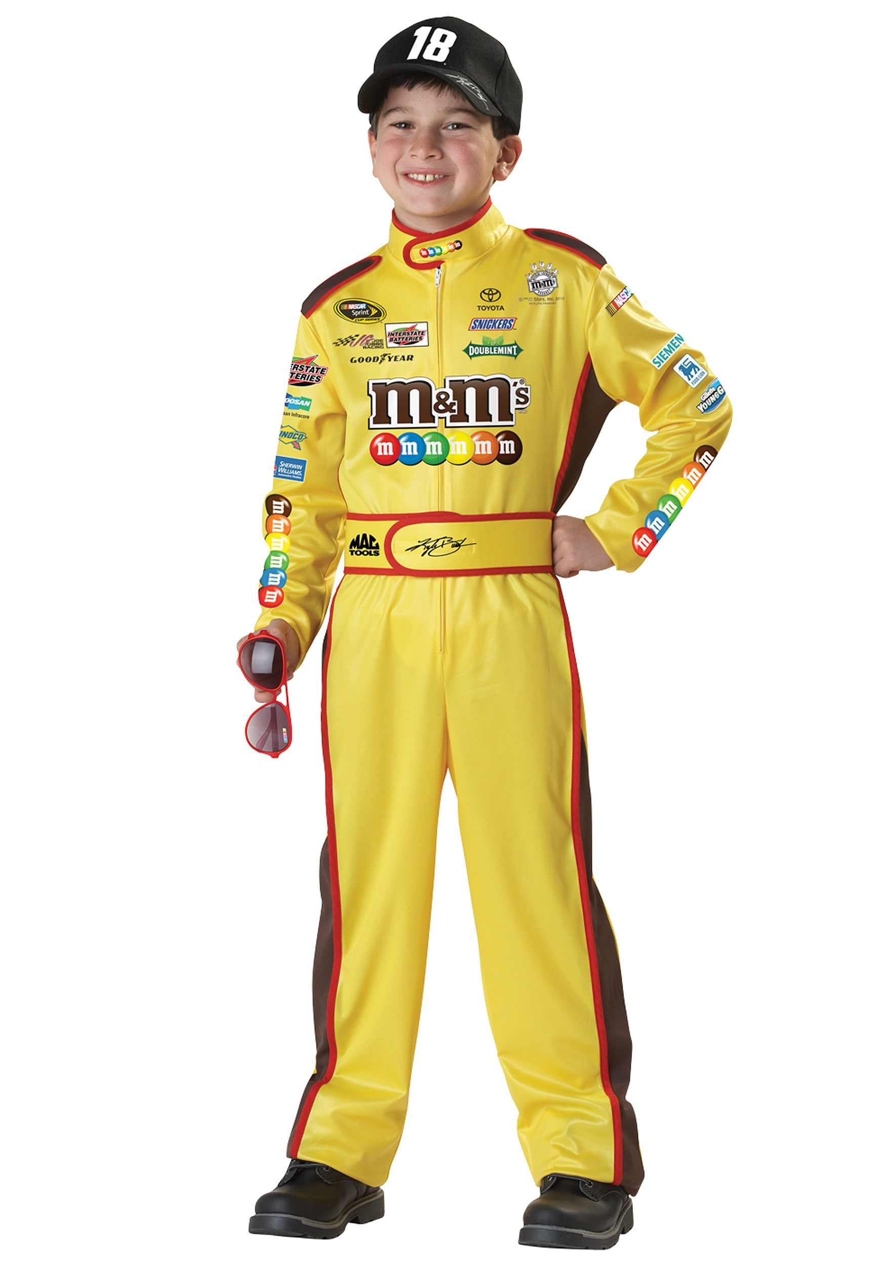 Child Kyle Busch Costume  sc 1 st  Halloween Costumes & Child Kyle Busch Costume - Halloween Costume Ideas 2018