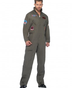 Plus Size Top Gun Jumpsuit