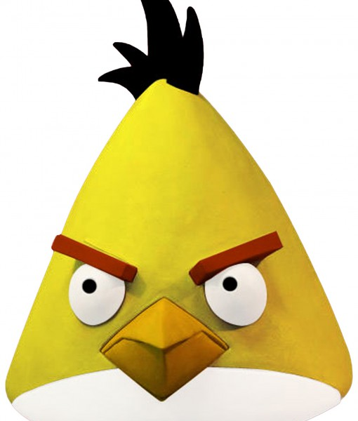 Angry Birds Yellow Bird Mask
