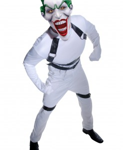 Joker Arkham Straight Jacket Costume