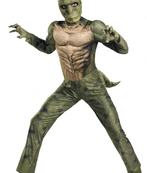 Kids Lizard Muscle Costume