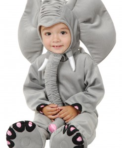 Little Grey Elephant Costume