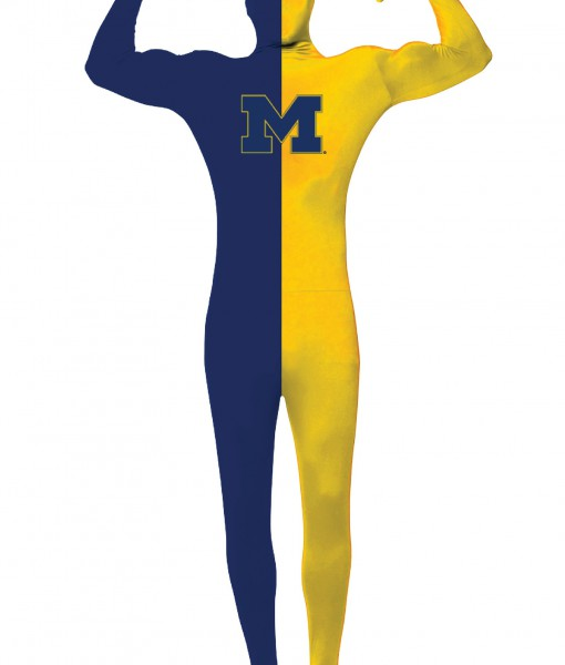 Adult University of Michigan Skin Suit
