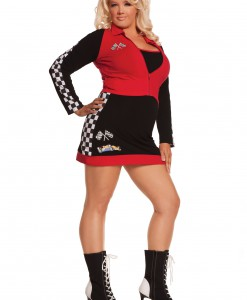 Plus Size High Speed Hottie Costume