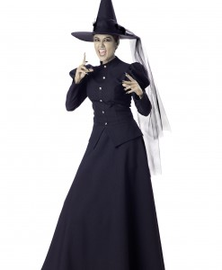 Women's Black Witch Costume