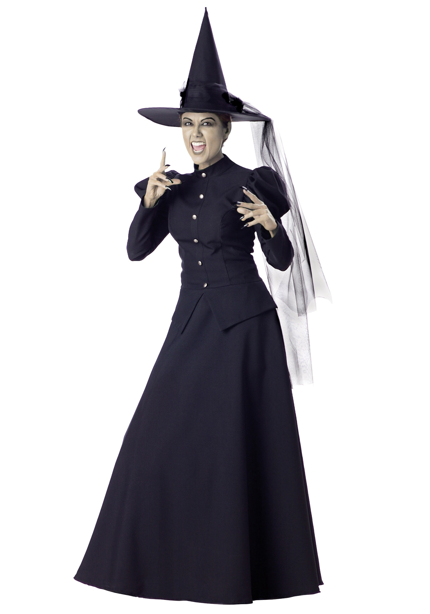 women's black witch costume - halloween costume ideas 2018